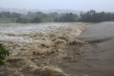 大雨被害を受けるディズニーリゾート 10/25 #TDR_now