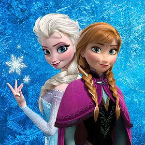 アナと雪の女王の塗り絵ぬりえイラスト大量まとめ【ディズニー子供向け遊び・お絵かき】