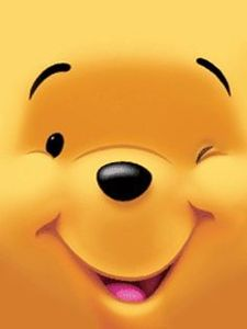 【ディズニー】くまのプーさん(Winnie-the-Pooh)スマホ壁紙 待ち受け 画像