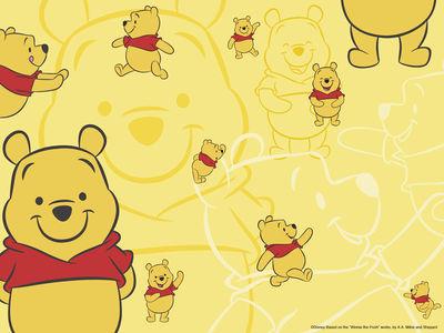 【ディズニー】くまのプーさん(Winnie-the-Pooh) PCデスクトップ壁紙 画像【高画質】
