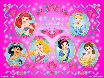 Disney ディズニープリンセス デスクトップ壁紙 ディズニー情報局