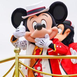 【ディズニー】期間限定ベリミニ衣装でDオタが泣き崩れているミッキー&フレンズのグリーティングパレード
