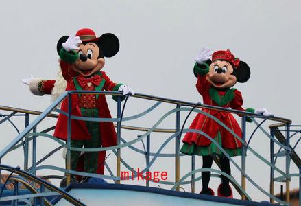 クリスマスとミキミニの組み合わせは最強♪