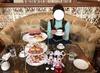 ホテルで優雅な昼下がり…ミニー尽くしのアフタヌーンティー★★